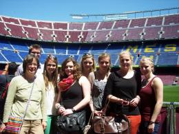 """""""Camp Nou"""", Stadion des FC Barcelona"""